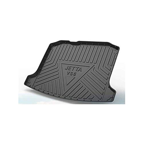 QWEAS Trunk Liner for Volkswagen Jetta VS5 2019 Waterproof Protection Cargo Mat Odorless Trunk Tray Mat Anti-scratch Pad All-Protection Foldable