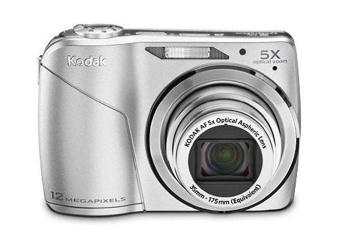 Kodak EasyShare C190 Digitalkamera (12,3 Megapixel, 5-Fach Opt. Zoom, 6,9 cm (2,7 Zoll) Display) Silber