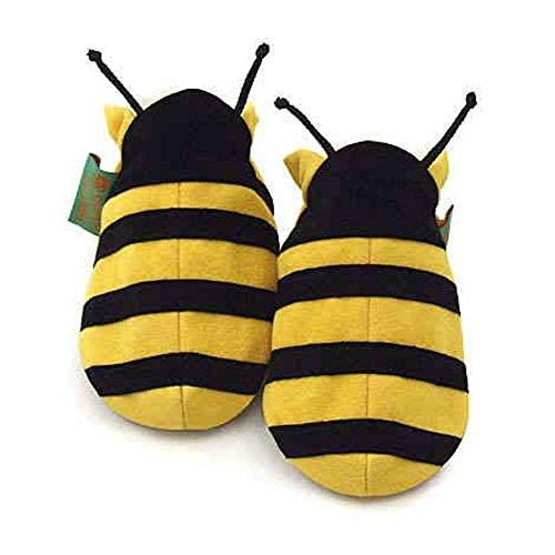 Funky Feet - Babyschuhe - Biene - Größe 6-12 Monate
