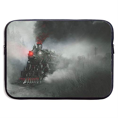 Laptop Sleeve Case Cover Bag, Computer Travel Pocket Pouch Handbag Compatible, Portable Tablet Slipcases Carry Bag for MacBook/HP/Acer/Asus/Dell Demon Train 13 15 inch