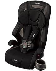 [Amazon限定ブランド] Combi(コンビ) fugebaby シートベルト固定 チャイルド&ジュニアシート 1歳頃から11歳頃まで ジョイトリップ エアスルー GG ブラック 通気性に優れたエアスルーモデル