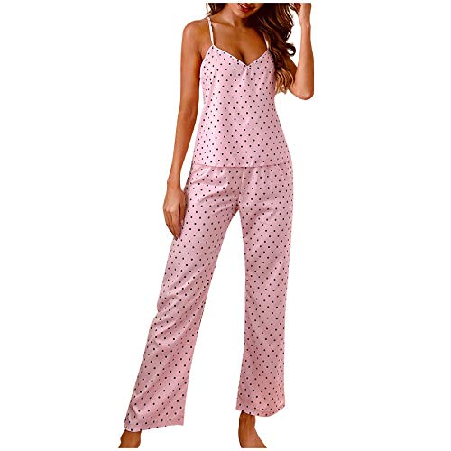 Nursing Nightgowns Red Stockings for Women Lingerie Maternity Pajama Pants Babydoll Bra and Panty Sets(D-Pink,M)