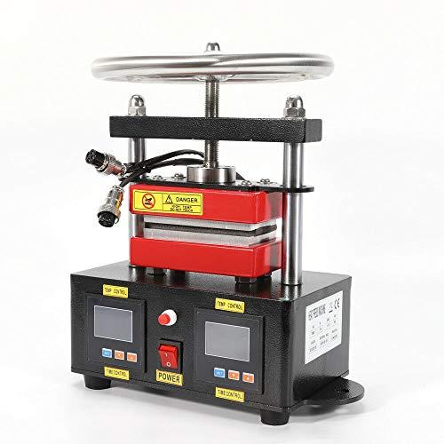 2000+ PSI Professional Press Hand Crank Dual Heated Plates (2.4' x 4.7')