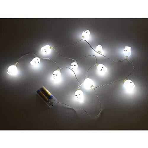 Unbekannt LED Lichterkette - Totenkopf (ca. 165cm lang)