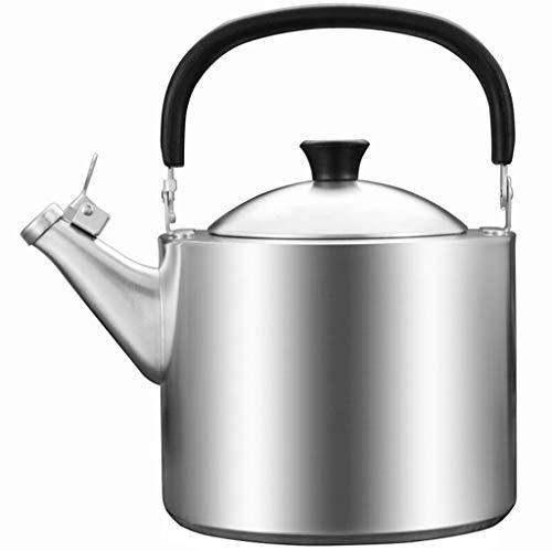 3.5L Épais 304 En Acier Inoxydable Bouilloire Eau Bouillante Sifflement Théière Gaz Gaz Cuisinière À Induction Ménage Eau Chaude Pot