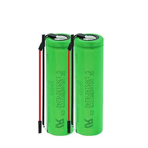 hsvgjsfa 30A 3.7v 18650 Batería 2600mah Li Ion, BateríAs Recargables Se Pueden Utilizar para Suministro De Energía MóVil Etc 2PCS