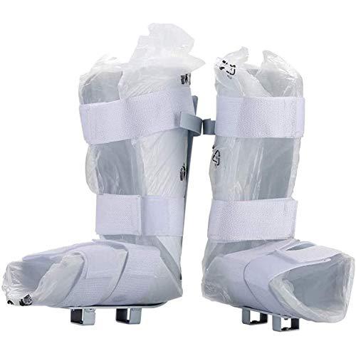 NACHEN Férula/Soporte para piernas Suave y cómodo, Tobillera Ajustable, Zapatos de Pedal de Bicicleta estática para Fisioterapia electrónica y Entrenador motorizado de Pedal de rehabilitación, 1 par