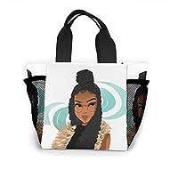 アメリカ人の少女 エコバッグ ショッピングバッグ 買い物袋 トートバッグ ランチバッグ おしゃれ 大容量 収納 軽量 通学 通勤 男女兼用