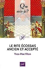 Le Rite Écossais Ancien et Accepté d'Yves-Max Viton