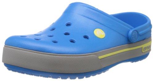 Crocs Crocband II.5 Clog, Zuecos Unisex Adulto, Azul (Ocean/Citrus), 48/49 EU