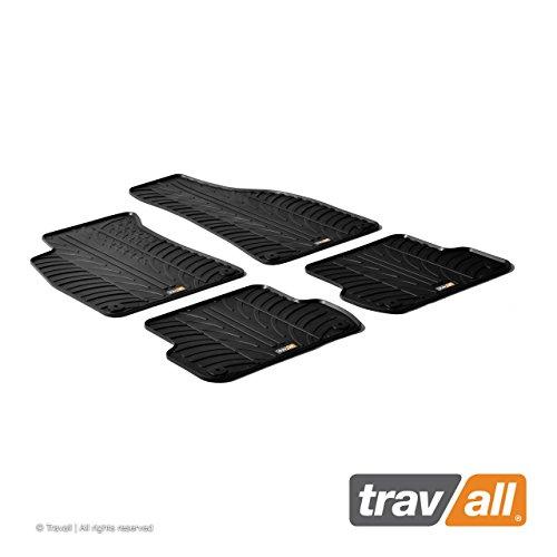 Travall Mats Tappertini Abitacolo Compatibili con Audi A4 Avant (2001-2008) A4 Limousine (2001-2007) Seat Exeo (2008-2013) TRM1124 - Tappertini Auto in Gomma Originali