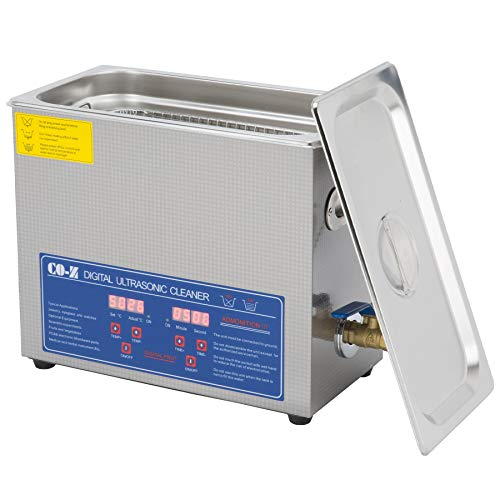 CO-Z Ultrasonic Cleaner 6L Large Capacity Stainless Steel Commercial...