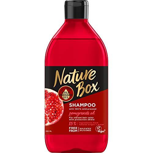 Nature Box Shampoo pomegranate - 385ml