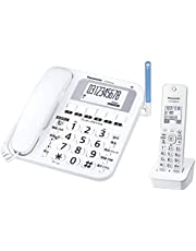Panasonic 松下電器 無線電話機(附1臺機) 白色 VE-GE10DL