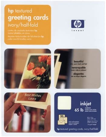 HP C6828A Cheap SALE Start Felt Textured Now free shipping Greeting Card Envelopes Paper 20 and Sh