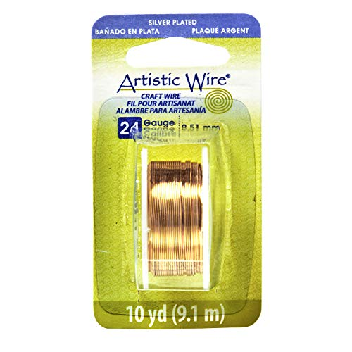 Artistic Wire 24S Gauge Wire, Gold Color, 10-Yard by Artistic Wire