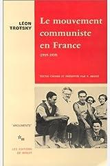 Mouvement communiste en France (Le) Capa comum