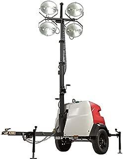 Generac Magnum MLT6SK Mobile Portable Light Tower - 6000 Watts, Kubota Engine, Manual Winch, Model Number 6967