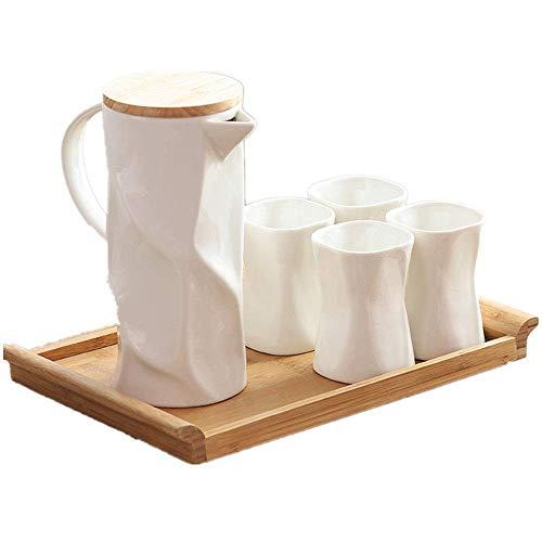 Tea Set Sleek Minimalist Bone China Teacup Set Creative Nordic Style Afternoon Tea Coffee Cup Set Is Ideal For Birthday Christmas Wedding European Retro Tea Set