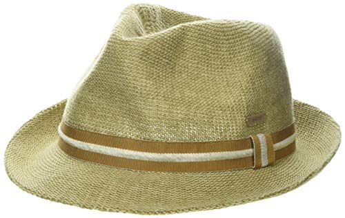 Barts Unisex Woltz Hat Panamahut, Beige (Natural 7), Large (Herstellergröße: M/L)