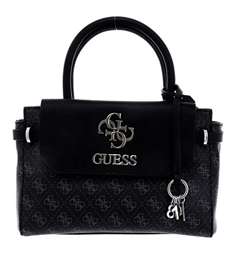 Guess Esme Small Society Satchel Coal