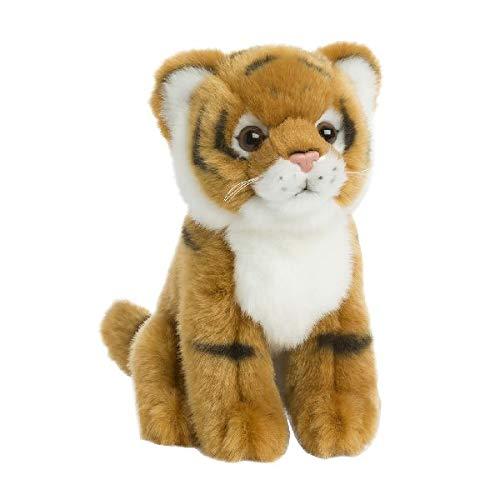 Speelgoed 15192100 WWF pluche steenkauz baby 15cm, bruin, 15 cm