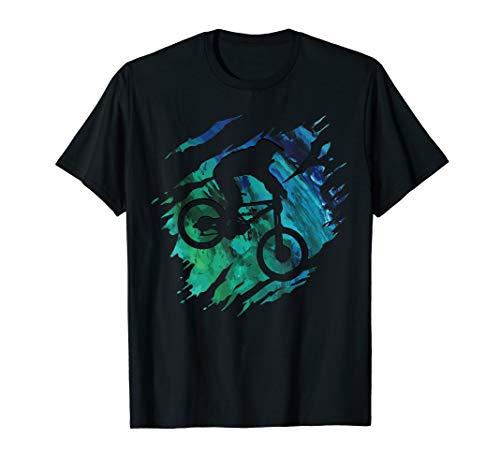 Downhill Shirt - Mountainbike MTB T-Shirt Geschenk T-Shirt