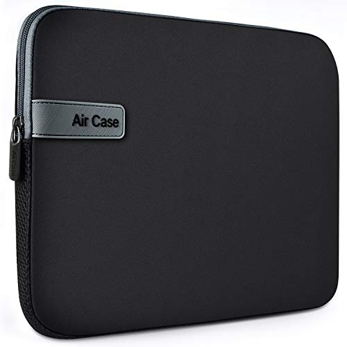 AirCase Laptop Bag Sleeve Case Cover for 14-Inch Laptop MacBook, Protective, Neoprene...