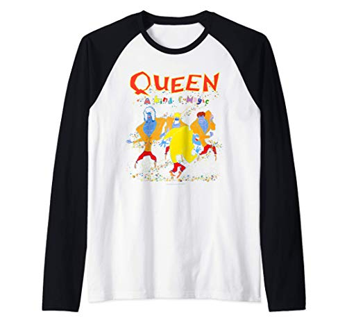 Official Adults Queen It's A Kind of Magic Baseball Tee for Men, Women Sizes S to XXL