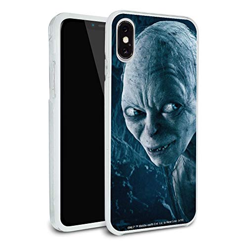 The Herr der Ringe Gollum Charakter Schutzhülle Slim Fit Hybrid Gummi Bumper Case passend für Apple iPhone 8, 8 Plus, X, 11, 11 Pro, 11 Pro Max