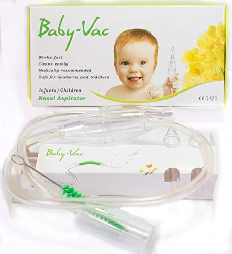 Arianna - BABYVAC Aspirador Nasal para Niños y Bebés(0 a 6 años)