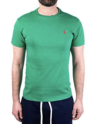 Polo Ralph Lauren Mod. 710671438 Camiseta Cuello Redondo Algodón Custom Slim Fit...