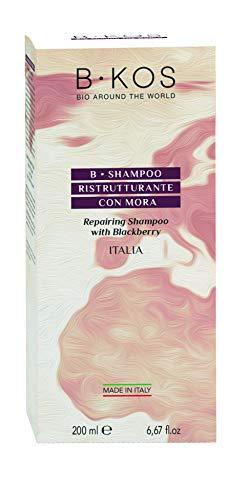 BKos Biologische shampoo met braambes extract - 200 ml