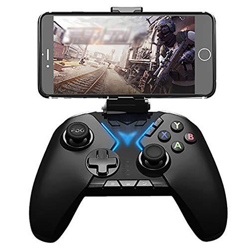 WXLSQ Inalámbrico Mobile Gaming Gamepad Joystick Móvil con Movimiento Y Vibración Dual Joystick, para PC/Ordenador Portátil (Windows XP / 7/8/10) Android iOS