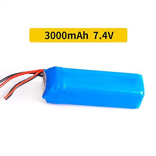 Goolsky- Batería de Lipo 2S 7.4V 3000mAh para Control Remoto FRSKY X9D Plus
