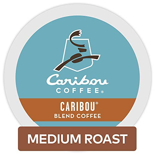 Caribou Coffee Caribou Blend Keurig Single-Serve K-Cup Pods,  Medium Roast Coffee, 72 Count