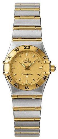 Omega Mini Constellation Damenuhr 1262.10 Armbanduhr (Armbanduhr)