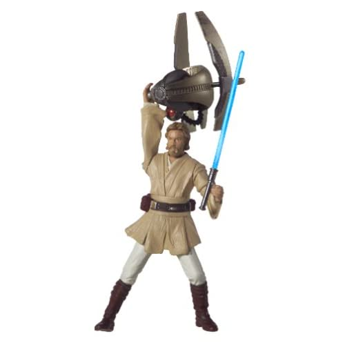 Hasbro Star Wars Episode II Attack of the Clones Obi-Wan Kenobi Coruscant Chase