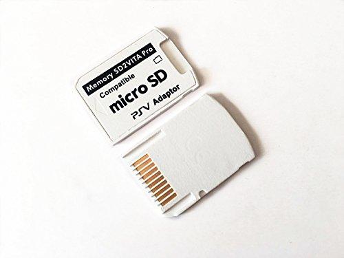 SHEAWA PlayStation Vita メモリーカード変換アダプター Ver.5.0 ゲームカード型 microSDカードをVitaのメモリーカードに変換可能 SD2VITA microSDアダプター