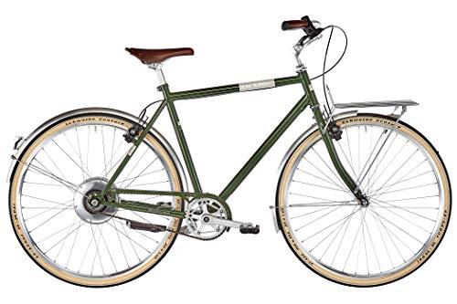 Ortler Bricktown Zehus Classic Green 2020 - Bicicleta eléctrica (55 cm)