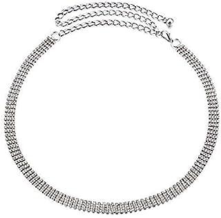 50007914 Amazon.es: cinturon mujer fiesta - Plateado / Cinturones ...