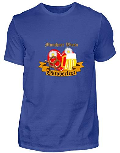 Desconocido Müchner Wiesn Oktoberfest München - Jarra de Cerveza de tamaño Mediano para Hombre