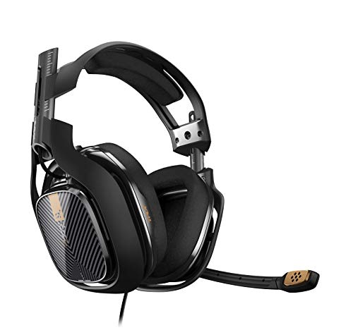 ASTRO Gaming A40 TR (3. Generation) PC-Headset (kabelgebunden) (auch kompatibel mit Mac, PlayStation 4, Xbox One) schwarz