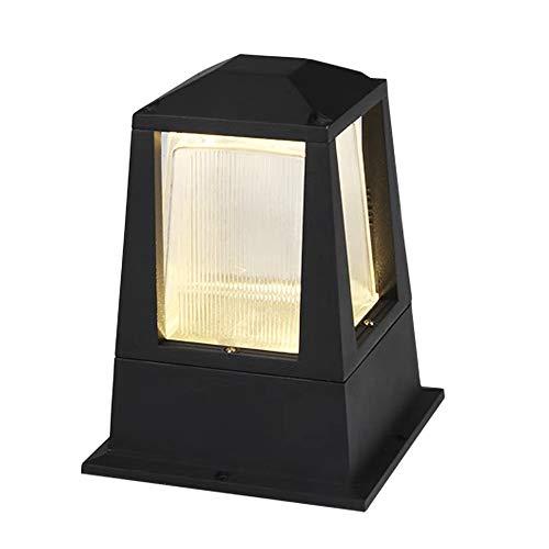 AWISAWIS Exterior Luz de Farola E27, IP65 Impermeable Luces de Jardín Moderna...
