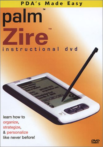 Palm Handheld Zire Instructional Training DVD
