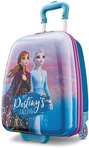 American Tourister Kids Disney Hardside Upright Luggage Frozen Destiny Carry On 16 Inch 128401 product image