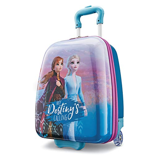 American Tourister Kids' Disney Hardside Upright Luggage, Frozen Destiny