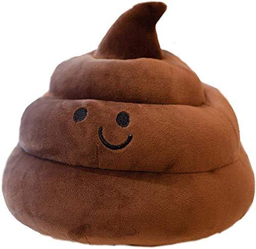 DINGX Kreative Poop Kissen Plüschtier Hocker Emoji Puppe Sofa Kissen Kinder Spoof Spoof Geburtstagsgeschenk 25cm Chuangze