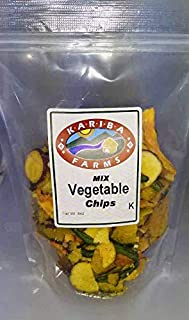 Mixed Dried Vegetable Chips 8 oz