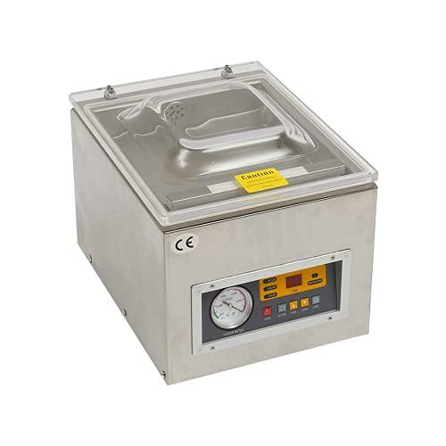 Chamber Vacuum Sealer Machine Z-260C Commercial Kitchen Food Chamber Vacuum Sealer, Packaging Machine Sealer for Food Saver, Home, Commercial Using 110V